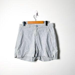 Woolrich Cotton Hemp Striped Nautical Shorts